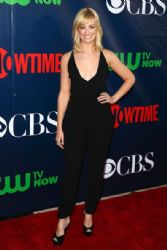 Beth Behrs wears Theory - CBS 2014 TCA Summer Press Tour Party