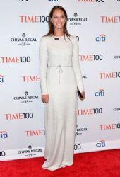 Christy Turlington wears Calvin Klein - Time 100 gala