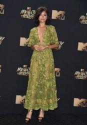 Zendaya in Zuhair Murad  Dress : 2017 MTV Movie and TV Awards