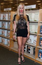 Jenna Jameson signs copies of her new book 'Sugar' at Barnes & Noble bookstore