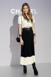 Elisa Sednaoui at the Chanel Autumn/Winter 2012/2013 Show