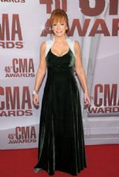 Reba McEntire attends the 45th annual CMA Awards at the Bridgestone Arena on November 9, 2011 in Nashville, Tennessee