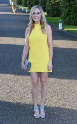 Joanne Froggatt wears Ralph Lauren - Vogue & Ralph Lauren Wimbledon party