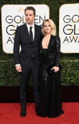 Dax Shepard and Kristen Bell: 74th Annual Golden Globe Awards - Arrivals