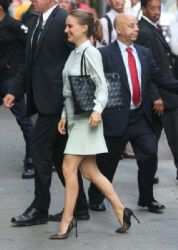 Natalie Portman: appearance on 'Good Morning America' at ABC Studios in New York City