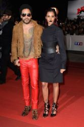 Lenny Kravitz wears Saint Laurent - NRJ Music Awards