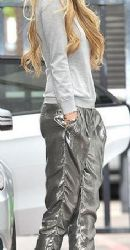 Elle MacPherson wears Rebecca Minkoff - out and about