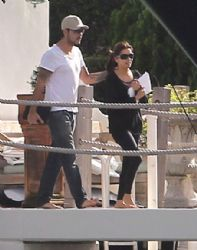 Eva Longoria: Out for a boat ride