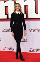 Cameron Diaz wears Rag & Bone - 'Annie' London Photocall