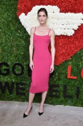 Hilary Rhoda wears Michael Kors - God's Love We Deliver, Golden Heart Awards