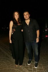 Yvonne Bosnjak and Antonis Remos: bar restaurant opening event
