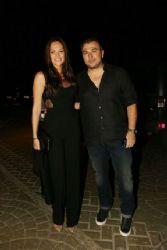 Yvonne Bosnjak and Antonis Remos: bar restaurant opening event