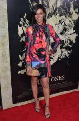 Meta Golding wears Juan Vidal - 'The Quiet Ones' LA premiere