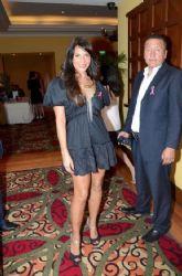 Lorena Rojas: breast cancer awarness event