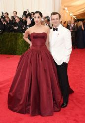 Sarah Silverman and Michael Sheen: Red Carpet Arrivals at the Met Gala 2014
