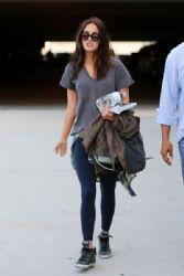 Megan Fox: at LAX