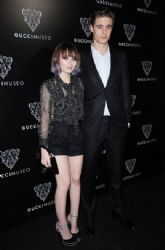 Emily Browning attend the Gucci Museum opening on September 26, 2011 in Florence, Italy