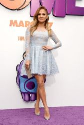 Jennifer Lopez attends the premiere of Twentieth Century Fox And Dreamworks Animation's