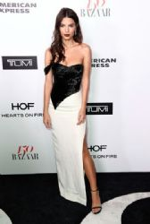 Emily Ratajkowski wears Cristina Ottaviano Dress : Harper's Bazaar Celebrates 150 Most Fashionable Wome