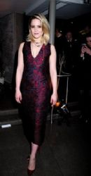 Dianna Agron: attend the 'McQueen' press night and world premiere