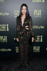 Vanessa Hudgens attends Hollywood Foreign Press Association and InStyle Celebration of The 2016 Golden Globe Award Season at Ysabel