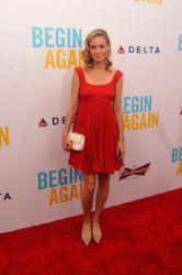 Brie Larson wears Prada - 'Begin Again' New York Premiere