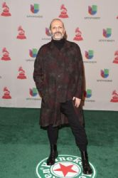 Miguel Bose: Green Carpet Arrivals at the Latin Grammy Awards 2014