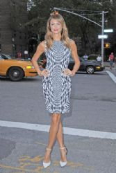 Stacy Kiebler attends Monique Lhuillier Fashion show at the New York Fashion Week
