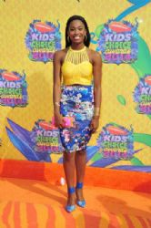 Coco Jones: Nickelodeon's 27th Annual Kids' Choice Awards - Arrivals
