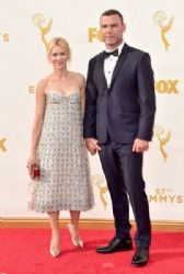 Naomi Watts and Liev Schreiber: 67th Annual Emmy Awards