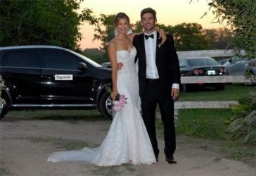 Marcela Kloosterboer and Fernando Sieling: religious wedding
