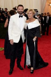 Hugh Jackman and Deborra-Lee Furness: Red Carpet Arrivals at the Met Gala 2014