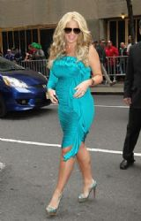 Kim Zolciak: arrives at NBC Studios in New York City