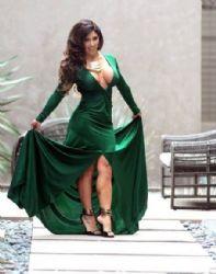 Carmen Ortega Poses in Hollywood