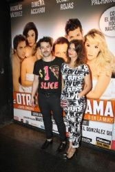 Felipe Colombo and Cecilia Coronado: theater premiere