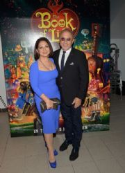 Gloria Estefan and and Emilio Estefan: 'The Book of Life' Premieres in Miami