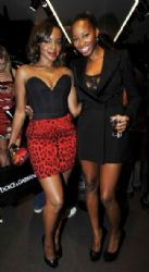 Keisha Buchanan and Jamelia