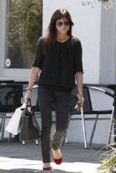 Selma Blair steps out for a coffee at the Doughboys Cafe in Los Angeles