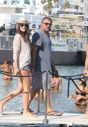 Antonis Remos and Yvonne Bosnjak: Mykonos look