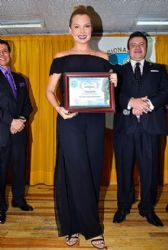 Marjorie De Sousa: National Association of Broadcasters of Mexico Reception