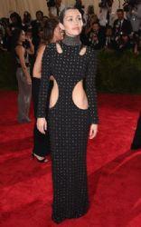 Miley Cyrus wears Alexander Wang - 2015 Met Gala