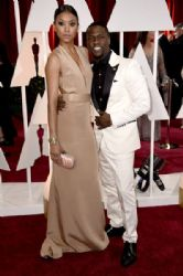 Kevin Hart and Eniko Parrish: 87th Annual Academy Awards 2015