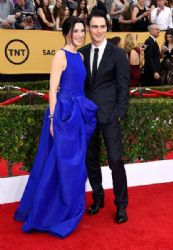 Julianna Margulies and Keith Lieberthal: 21st Annual Screen Actors Guild Awards - Arrivals