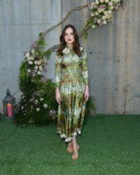 Dakota Johnson : Gucci Bloom celebration at PS1 MoMA in NYC