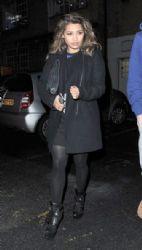 Vanessa White: leaving a studio in London