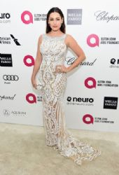 Kelly Brook: Elton John AIDS Foundation Oscars 2015 Viewing Party