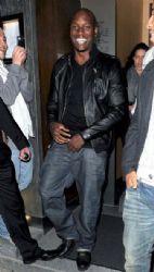 Tyrese Gibson leaving nobu
