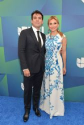 Jorge Salinas and Elizabeth Alvarez: Univision Upfront 2014
