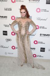 Phoebe Price: Elton John AIDS Foundation Oscars 2015 Viewing Party