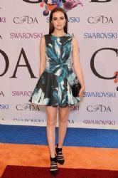 Zoey Deutch wears Rebecca Minkoff - 2014 CFDA fashion awards